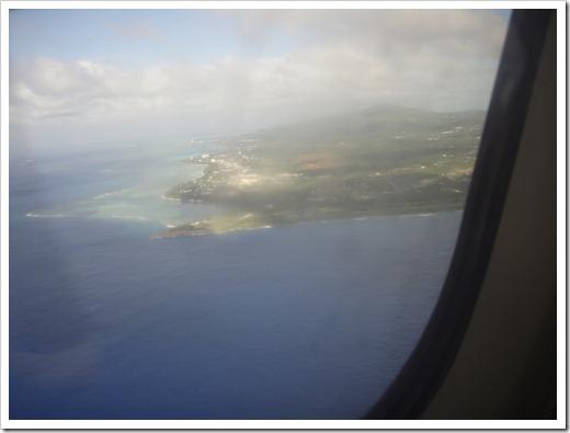 Approaching Saipan